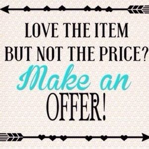 Other - Make me an offer, bundle to save!! 👼🏼